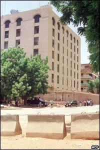 السفارة الأمريكية في الخرطوم