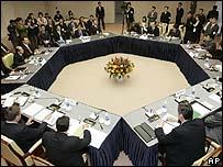 Six party talks on North Korea's nuclear programme