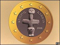 Cypriot euro coin