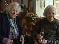 Betty Richards and Jenny Pelmore