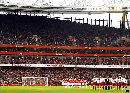 Arsenal host West Ham at the Emirates Stadium