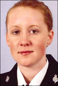 Pc Katie Johnson (photo courtesy of Lancashire Police)