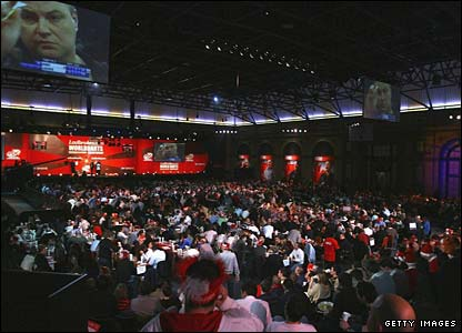 Alexandra Palace is packed to the rafters for the PDC World Championship