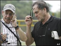 Oliver Stone (right)
