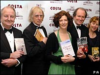 Brian Thompson, John Haynes, Stef Penney, William Boyd and Linda Newbery