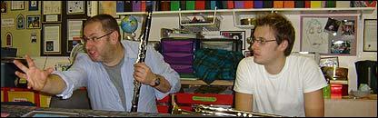 Músicos de la Orquesta Sinfónica de Londres