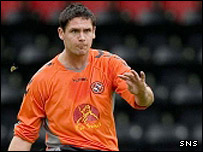Dundee United defender Lee Wilkie