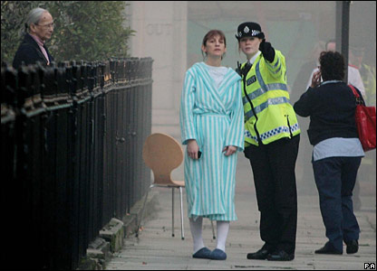 Royal Marsden patient directed by police officer