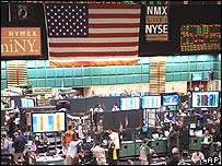 New York Mercantile Exchange and oil traders