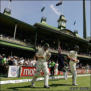 Brett Lee & Andrew Symonds