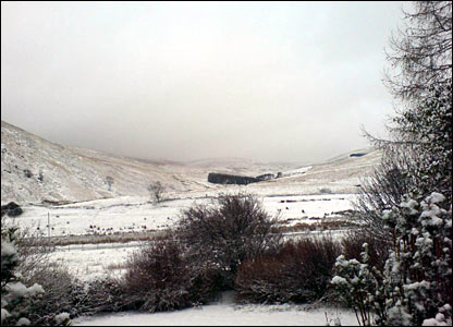 Snow in the Gleneagles area [Pic: Andrew Rodger]