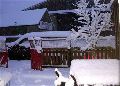 Snow in Midlothian [Pic: Nicola Gooch]