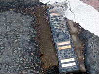 Road sensor in Dudley (photo courtesy Dudley Council)