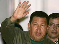 Venezuelan President Hugo Chavez. File photo