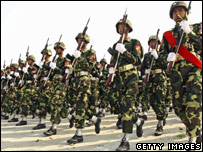 Burmese soldiers, file image March 2007