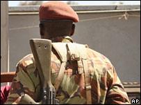 Military policeman in Nairobi