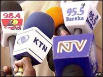 Kenya: Microphone collars