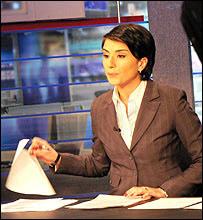 Rustavi-2 presenter