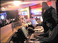 Rustavi-2 newsroom