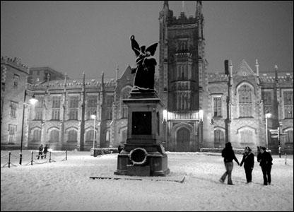 Snows cape in Belfast
