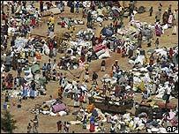 Desplazados por la violencia étnica en Rift Valley, Kenia