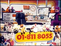The set of the original Swap Shop