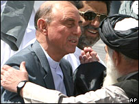 Former governor of Pakistan's restive North West Frontier Province, retired Lt Gen  Ali Mohammad Jan Orakzai