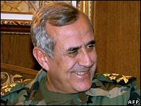Lebanon's army chief, Gen Michel Suleiman. File photo