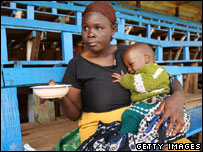 Woman seeks aid in Nairobi
