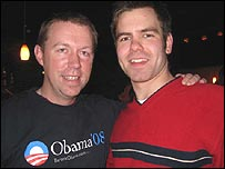 Senator Obama supporters in New Hampshire