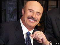 TV's Dr Phil McGraw