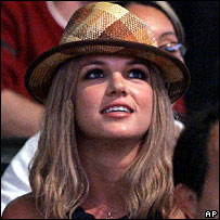 Britney Spears in March 2007