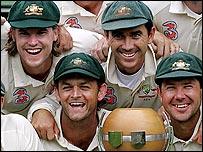 Australia celebrate in Sydney, 2006