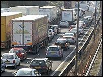 Motorway jam (generic)