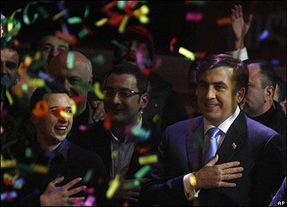 Georgian President Mikhail Saakashvili, 06/01/08