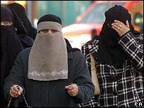 Muslim women in Birmingham, 2007