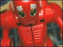 Spinning robot
