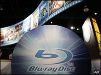 Blu-ray stand at the Consumer Electronics Show in Las Vegas