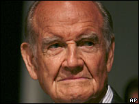 George McGovern in a photo from October 2006