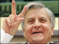ECB chief Jean-Claude Trichet
