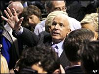 John McCain has led a roller coaster campaign