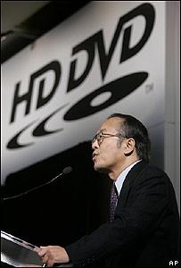 Akio Ozaka, el presidente de Toshiba en Las vegas (06/01/08)