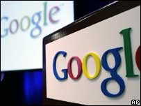 Google logo, AP