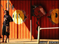 An Aborigine teenager in Alice Springs (file image)