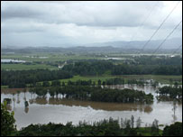 Flooding in Murwillumbah - Picture Erin Claydon