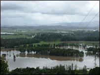 Flooding in Murwillumbah - Picture Erin Claydon
