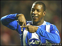 Wigan Athletic's Titus Bramble
