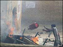 Rioting prisoners in Jalandhar