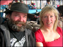 Frank McGarry and Jill Beattie