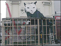 The &quot;Stop the Rot&quot; mural